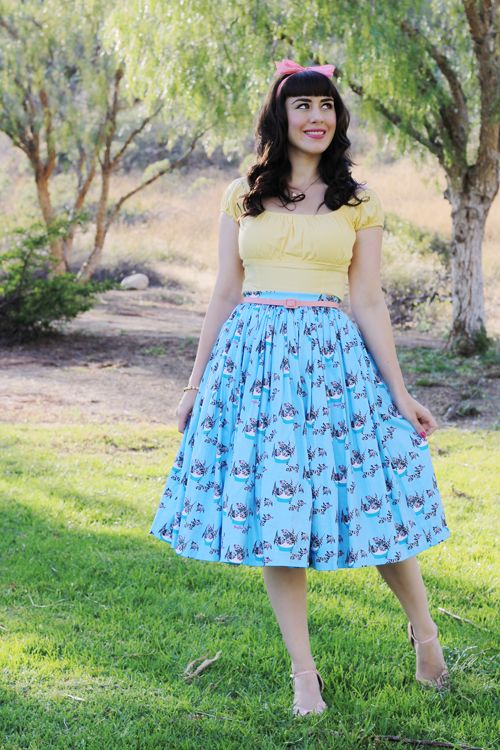 Southern California Belle Pinup Couture Fashion