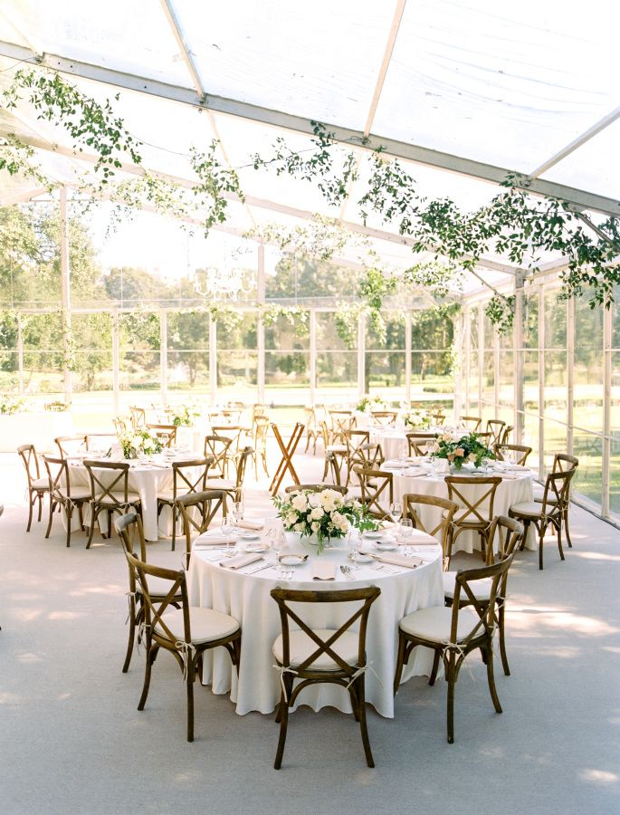 A wedding reception tent from Sandone Productions Dallas