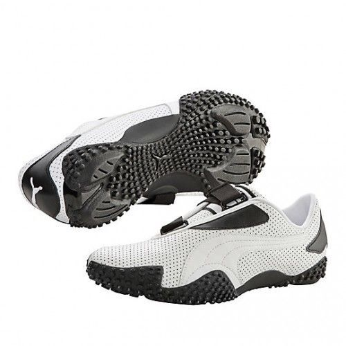 Puma mostro perf leather trainers white / black 351413-01 retro new men's  uk 7.5 | Leather trainers, Pumas and Trainers
