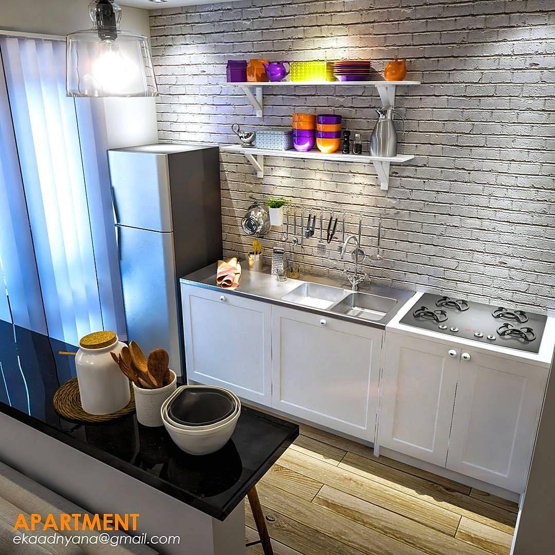 Kitchen Set Nuansa Hijau: Gambar Kitchen Set Minimalis Sederhana