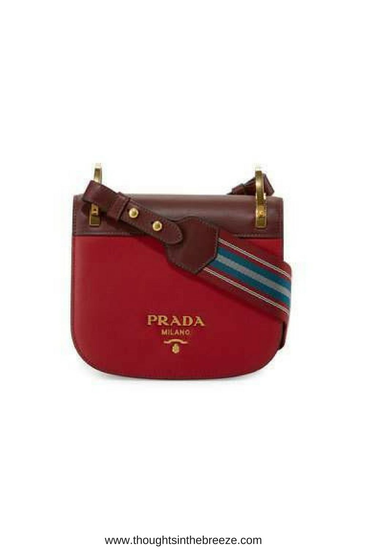 4caac64745d109 ... ebay 1770 prada pionnière web strap shoulder bag red prada colorblock  smooth leather shoulder bag d4f27