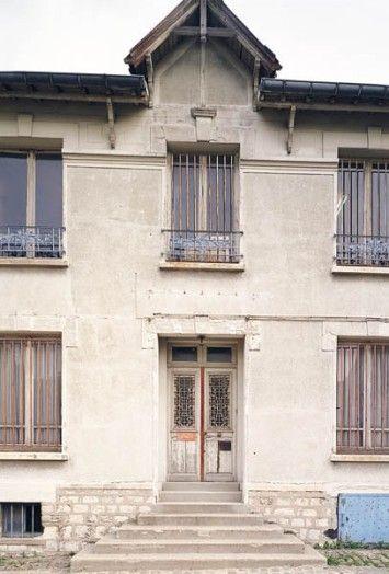 Maison du 138 rue Sadi-Carnot à Bagnolet Adresse  138, rue Sadi - peinture de facade maison
