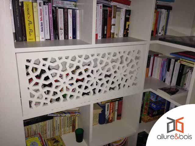 Porte De Bibliothèque Avec Le Motif Orion Porte Moucharabieh - Porte bibliothèque