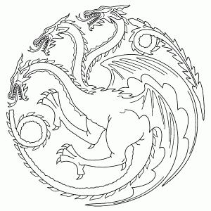 Pin Von Stacypayan Auf Szinezo Alapanyagok Ausmalbilder Game Of Thrones Drachen Spiele