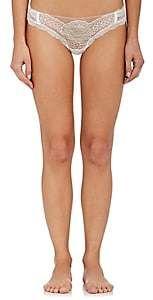 2a2c21aac99549 La Perla Women's Lace Frills Brazilian Bikini Briefs-Off White A017 ...