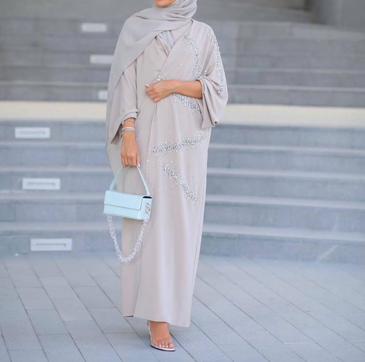 Latest Abaya Designs That You Will Love Zahrah Rose Abaya Designs Abaya Fashion Hijabi Fashion
