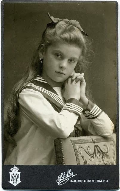 +~+~ Antique Photograph ~+~+ Sailor girl
