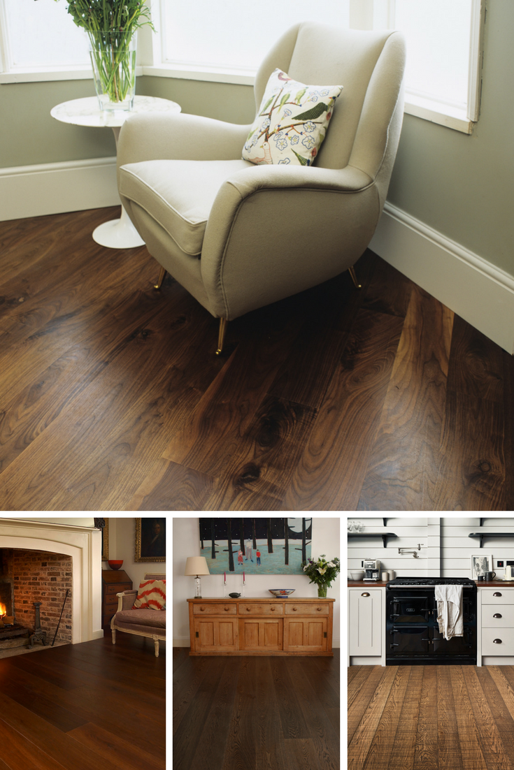 Create A Dramatic Look With The Rich Warm Tones Of Dark Wood Flooring Keep Walls Light To Dark Engineered Wood Floors Engineered Wood Floors Warm Home Decor