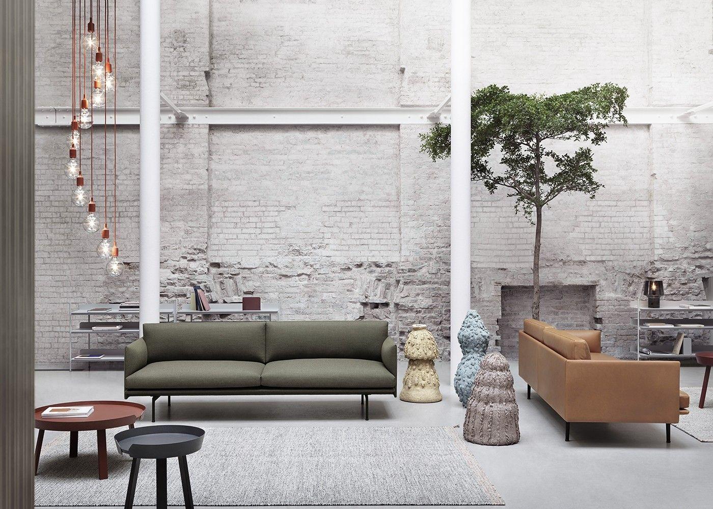 Outline 3 Seater Sofa Muuto Furniture Elegant Sofa Best Leather Sofa