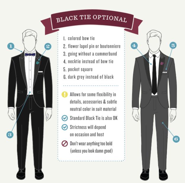Black Tie Optional Dress Code For Men Creative Black Tie Black Tie Optional Dress Black Tie