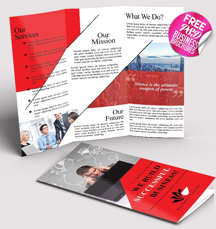 Free Psd Business Brochure Template Mockups Psd Templates For