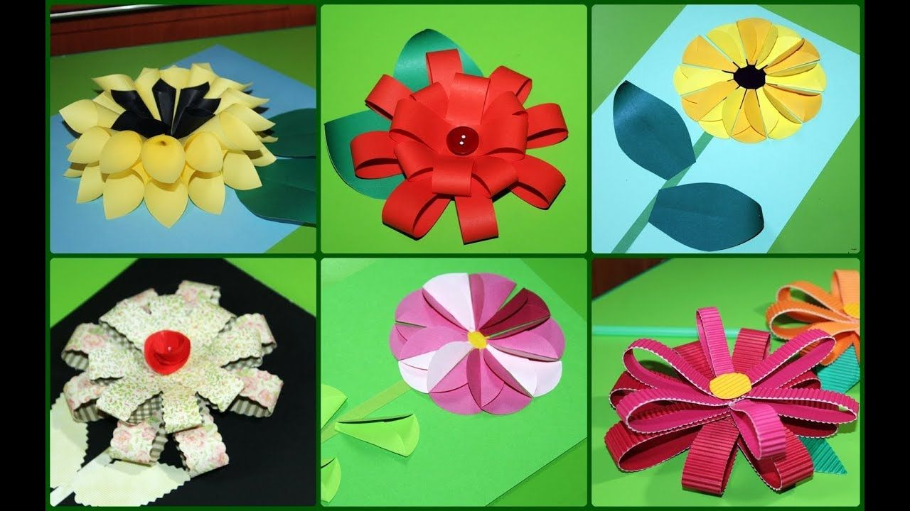 Proste Kwiaty Z Papieru Simple Paper Flowers Craft Gifts Paper Flowers Mother Day Gifts