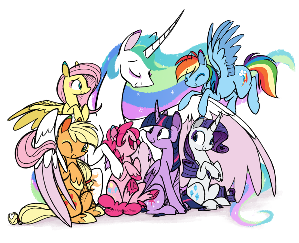 The Harmony of Canterlot by Selective-Yellow | Мультфильмы ...