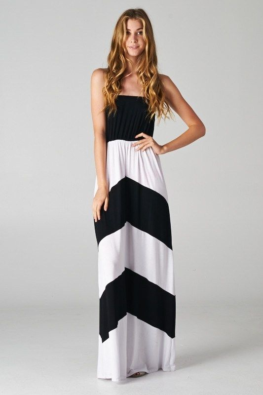 Chevron maxi.....love this print/design.
