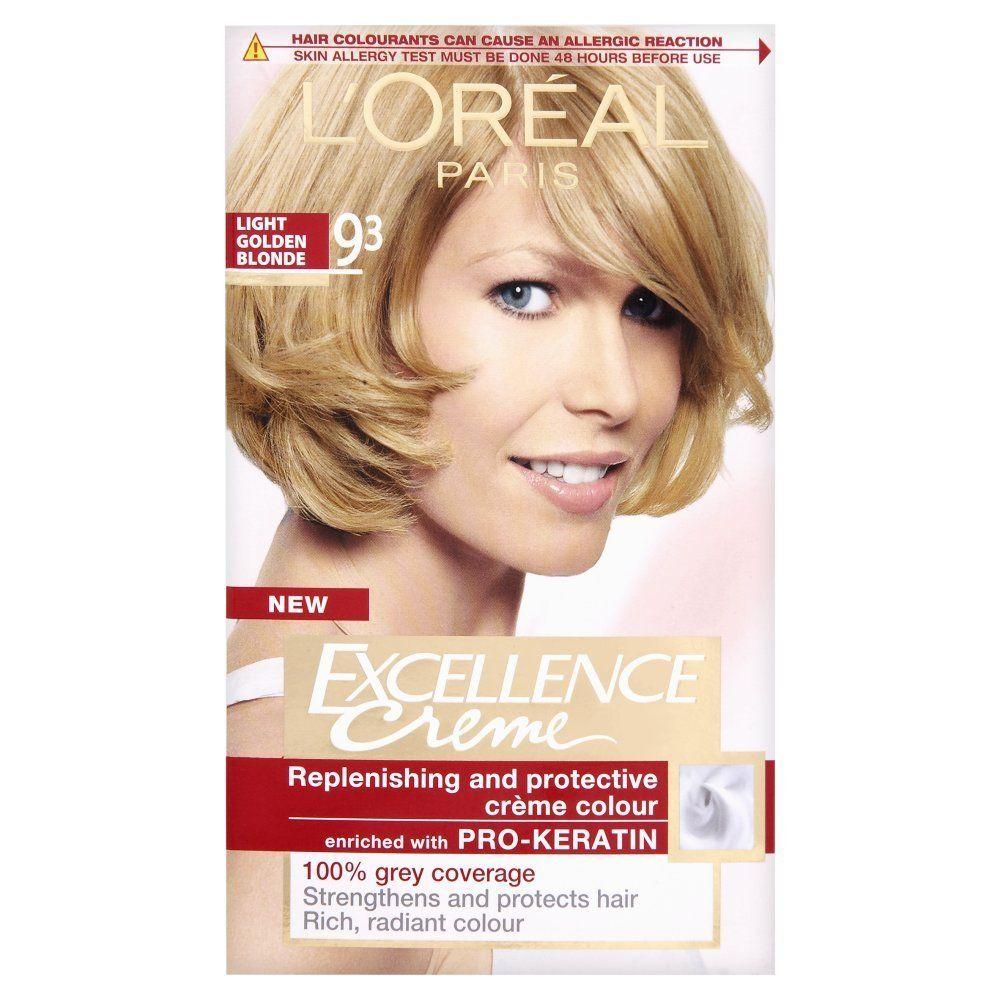 Loreal Reddish Blonde Hair Dye Honey Color