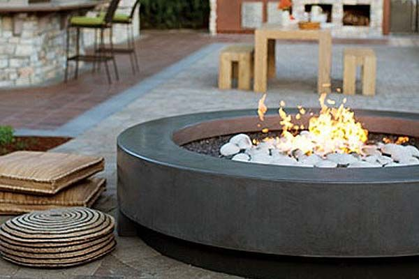Modern Outdoor Firepit Inspiration Honeyle Life