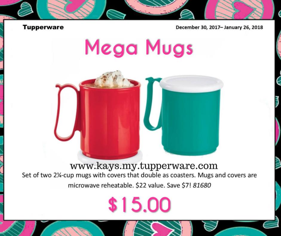 Tupperware Mega Mugs Easy Order Online http//www
