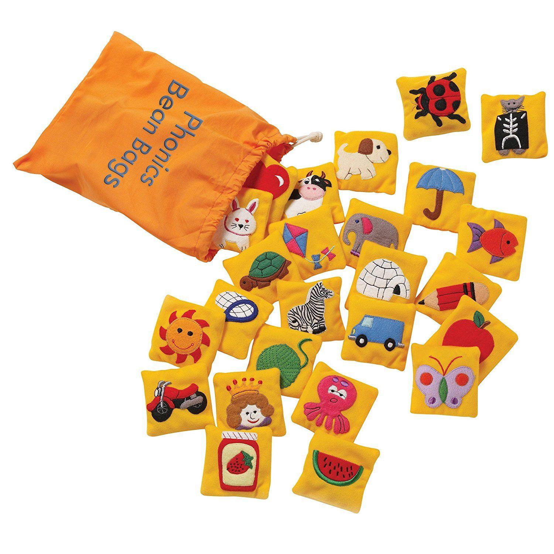 Amazon Educational Insights Phonics Beanbags Toys