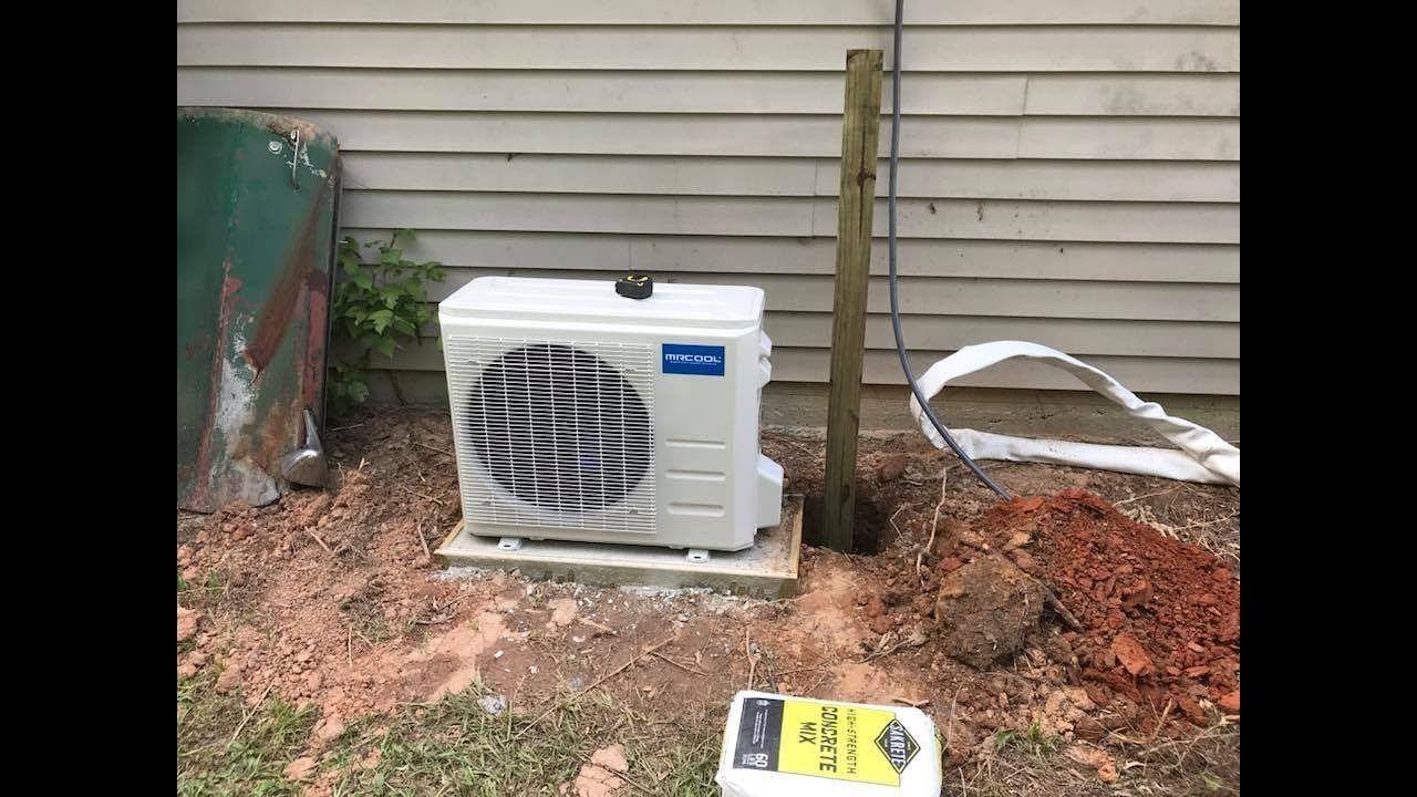 Mr Cool mini split air conditioner install. YouTube
