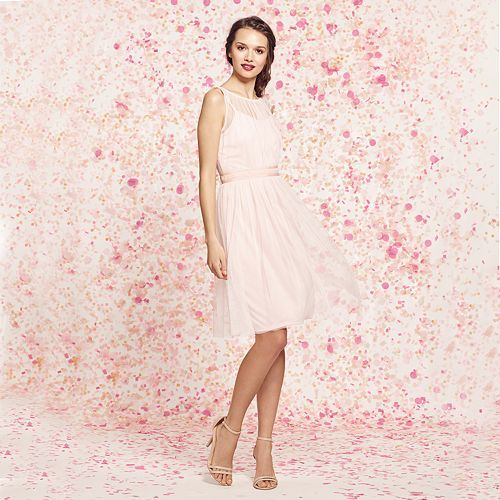 $49 Kohls Women\'s LC Lauren Conrad Tulle Fit & Flare Dress ...