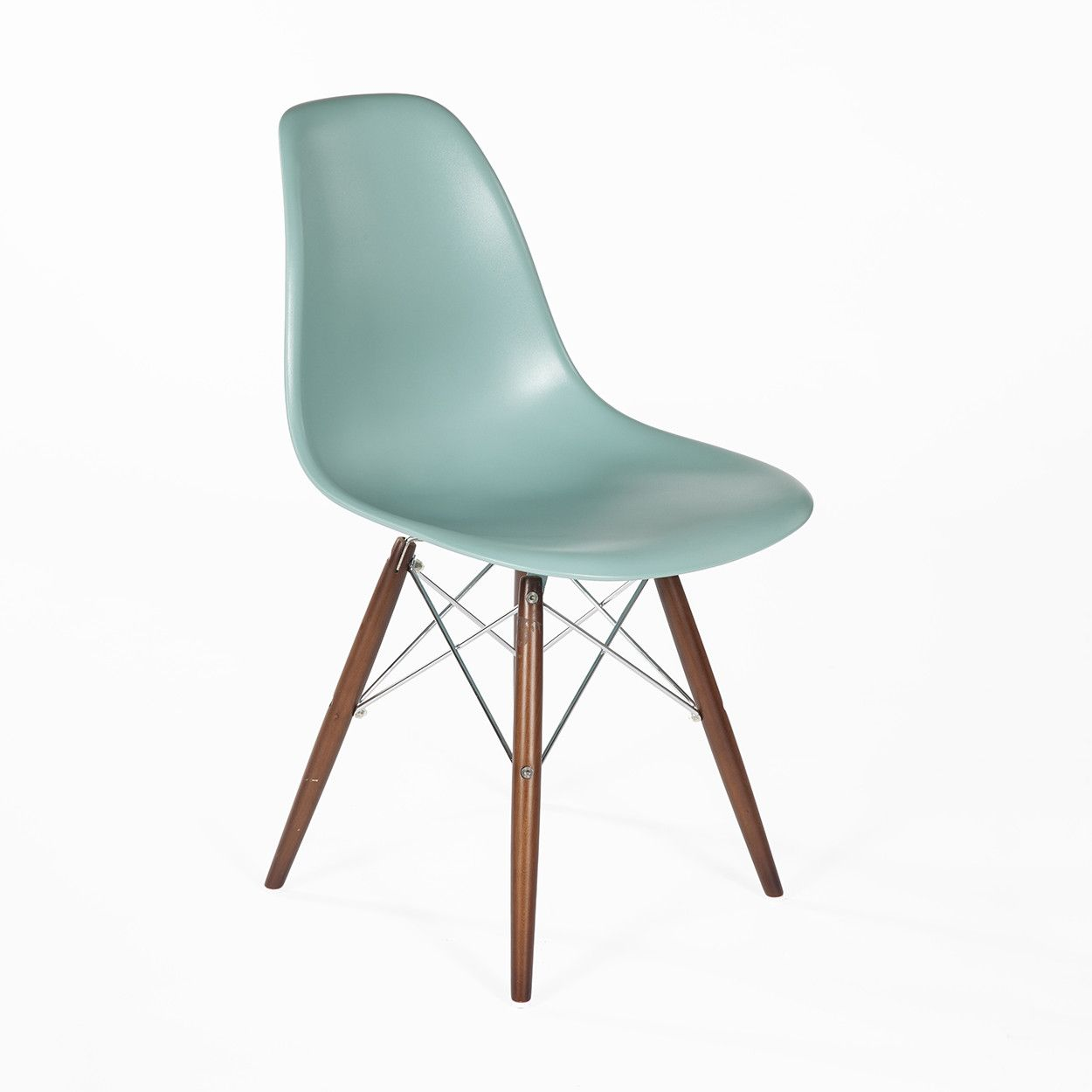 Mid-Century Modern Reproduction DSW Plastic Molded Eiffel Dining ...