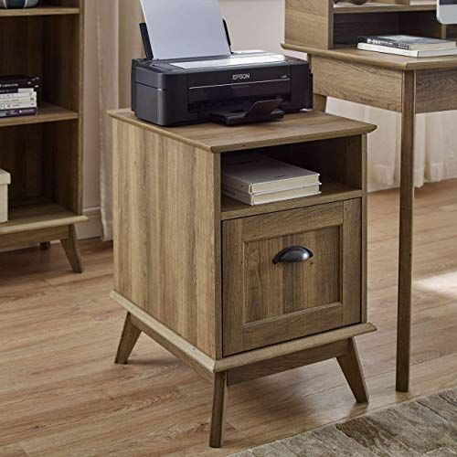New Newport Series Tall Wooden Home Office Vertical File