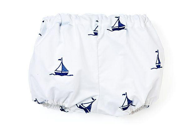 Blue Sailboat Diaper Cover on OneKingsLane.com
