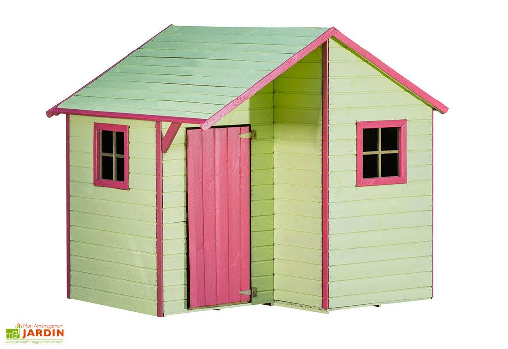 Cabane En Bois Traite Autoclave Maison D Enfants Lucy Cabane Bois Maison Enfant Maisonnette En Bois