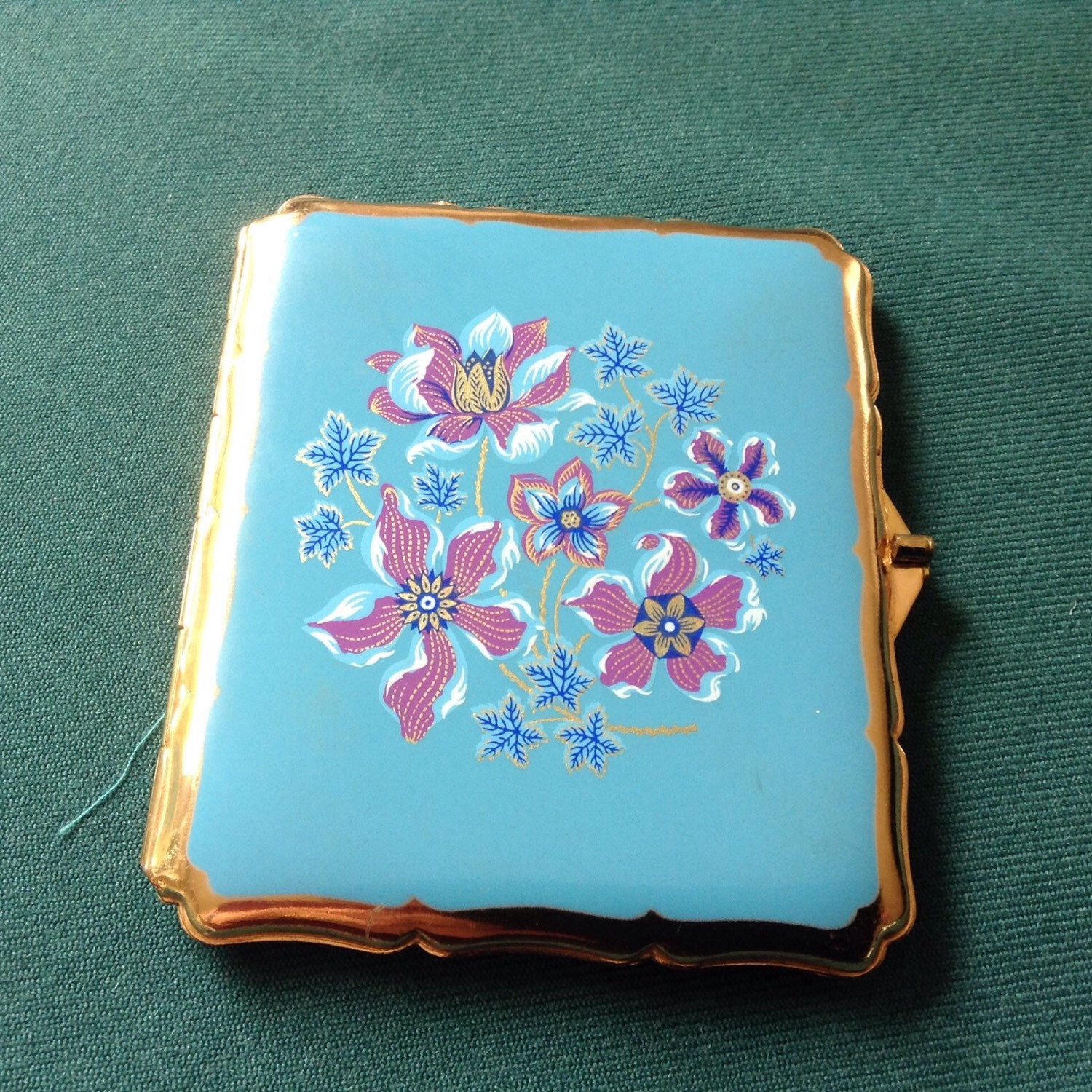 Ladies Cigarette Case by STRATTON. Use as Credit/Business Card Case ...