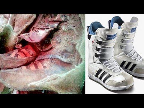 a 1,500 year old Mongolian mummy 'wearing Adidas boots' proof that time  travel exists