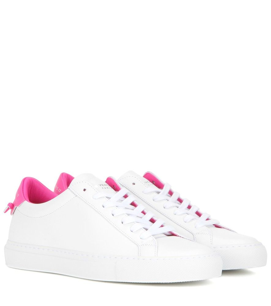 White and Pink Urban Knots Sneakers Givenchy M2BRyo