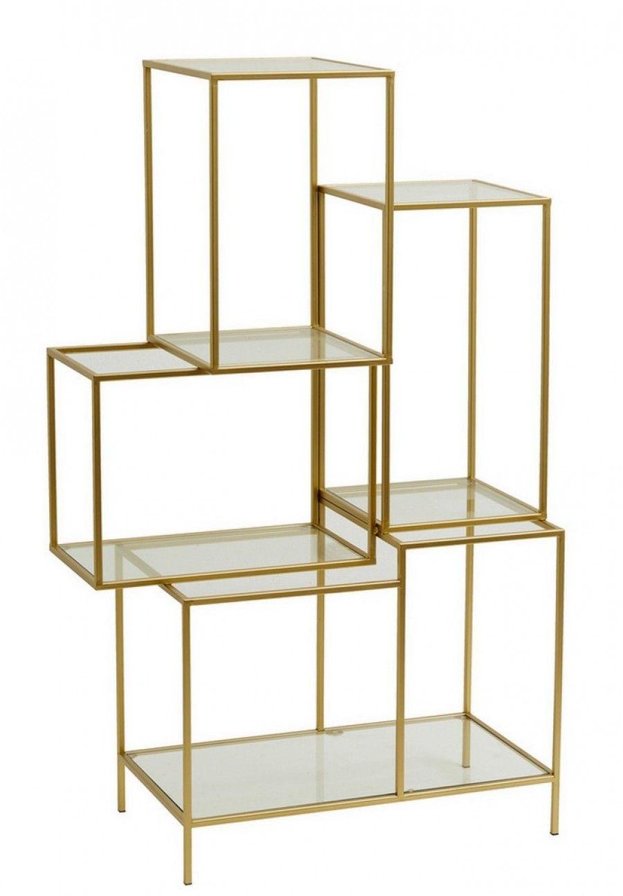 Regal Metall Glas gold h 126cm | Regal design, Regal metall