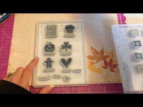 Tip for Making Stampin Up Clear Mount Stamps Sticky