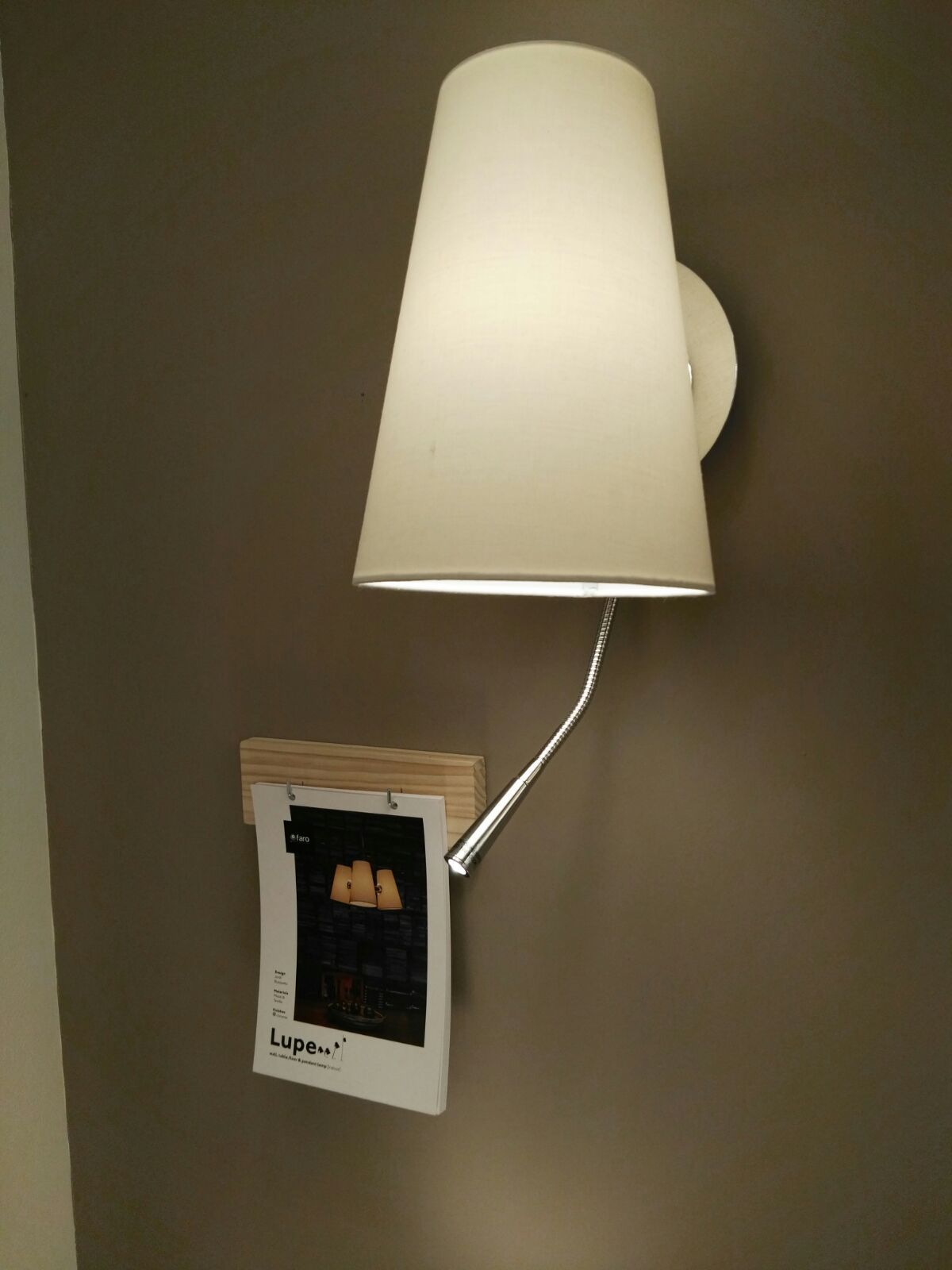 LUPE chrome wall lamp #design | Light+Building 2016 | Pinterest