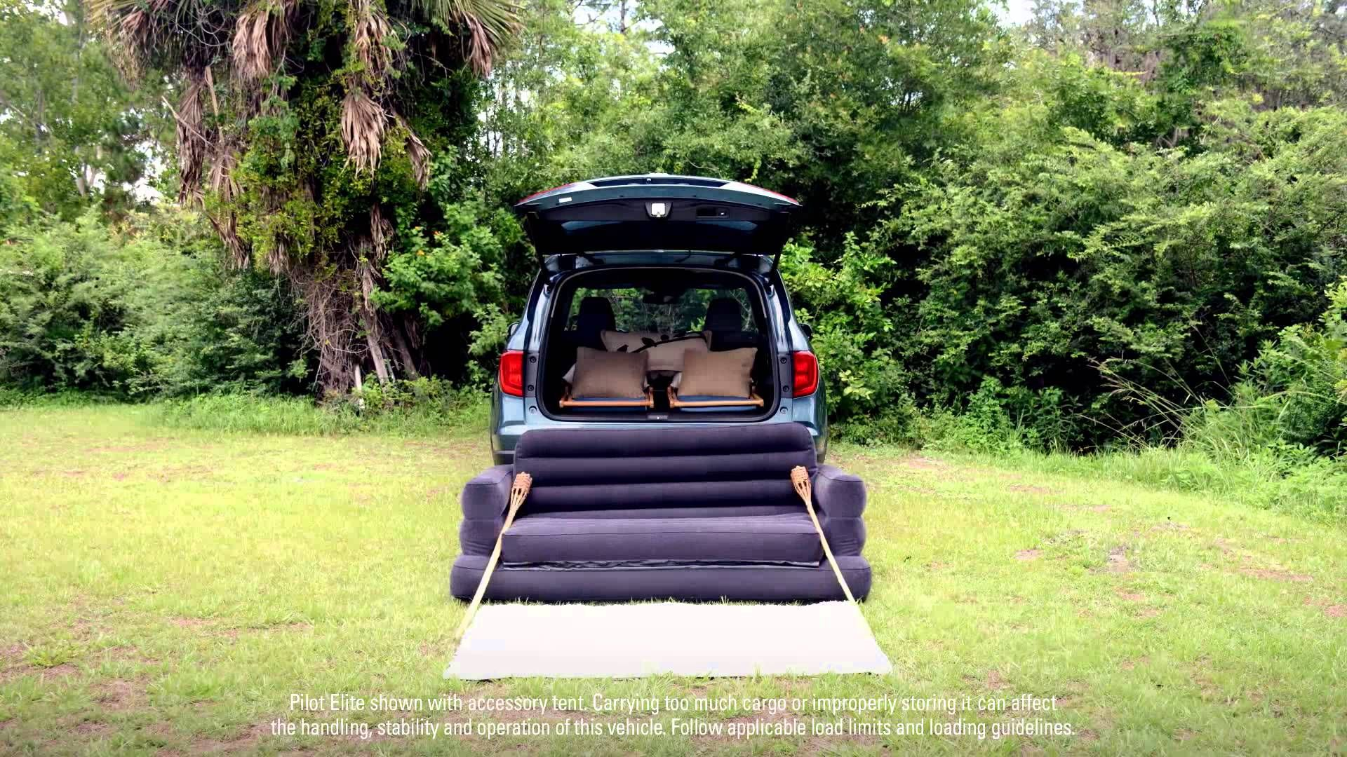2016 Honda Pilot Goes Glamping How To Set Up Your