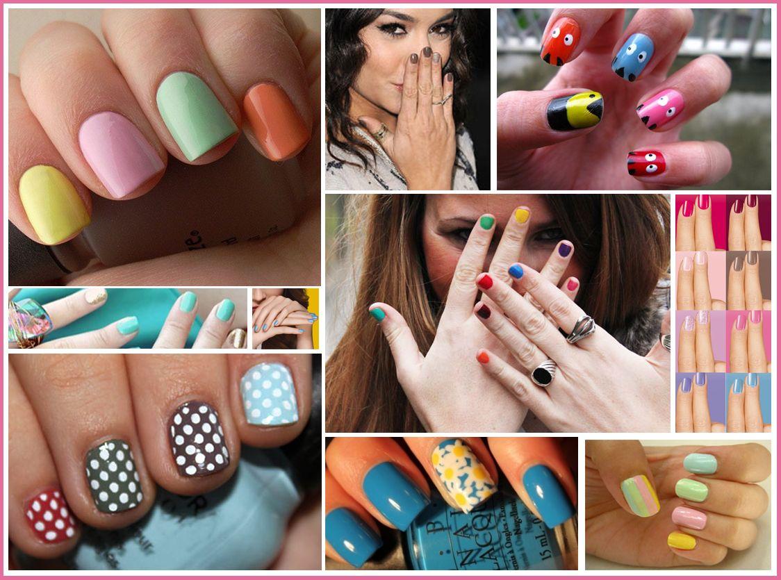 uas verano 2012 colores moda tendencias una oveja negra o del color - Color De Uas De Moda