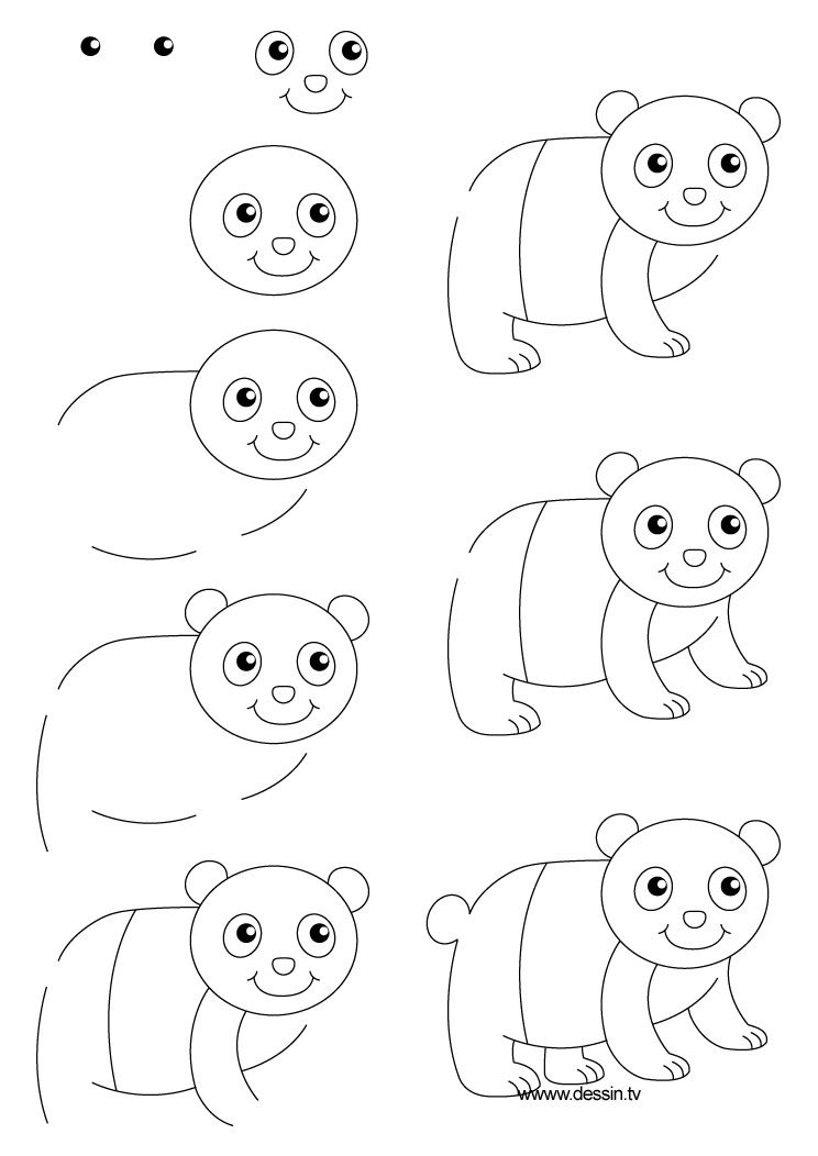 Dessin Panda Dessins Kim Dessin Peinture Dessin Et