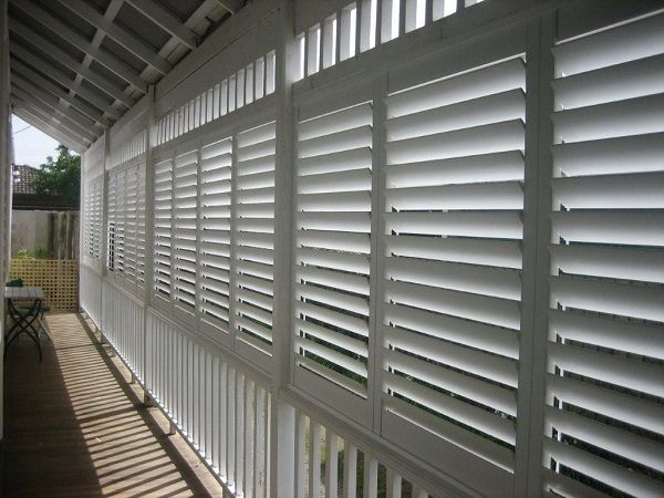 Outdoor Plantation Shutters Aluminium from Into Blinds Melbourne ...