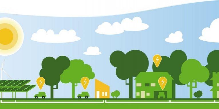 Smart Sustainability. Intelligente wegen en verlichting, fijnstof meten met je mobiele telefoon, gemakkelijk met andere stadsbewoners in contact komen en initiatieven ontplooien, smart grids die vraag en aanbod van water, energie op elkaar afstemmen... mvo trends 2015.