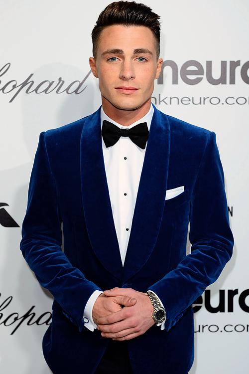 Colton Haynes Elton John Aids Foundation Academy Awards Viewing