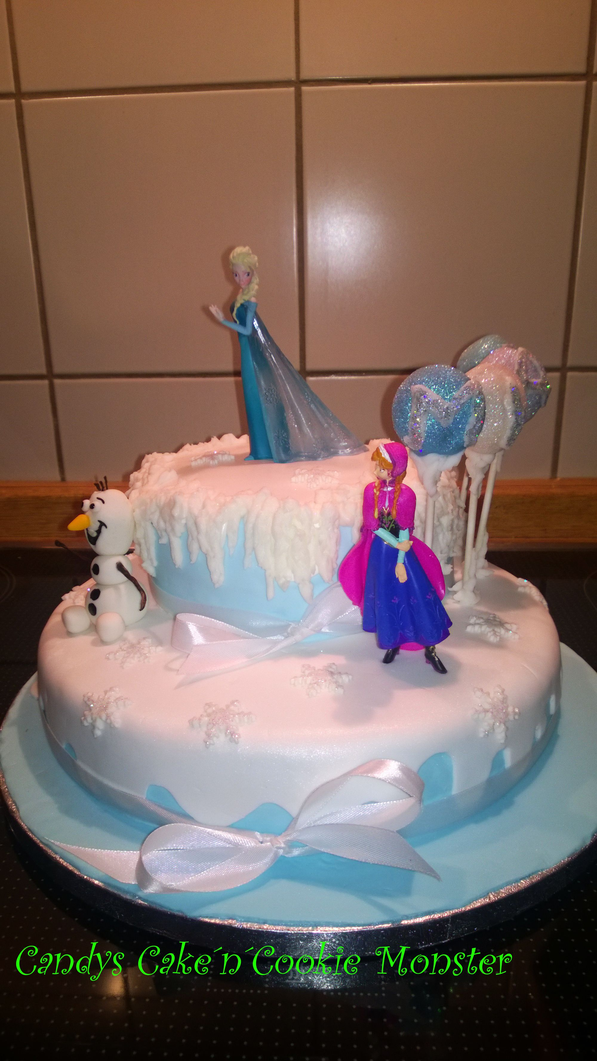 frozen birthday cake for 5 year old mia Party Pinterest