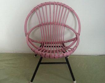 Nederlandse kleine rotan stoel rohÉ noordwolde kinderstoel