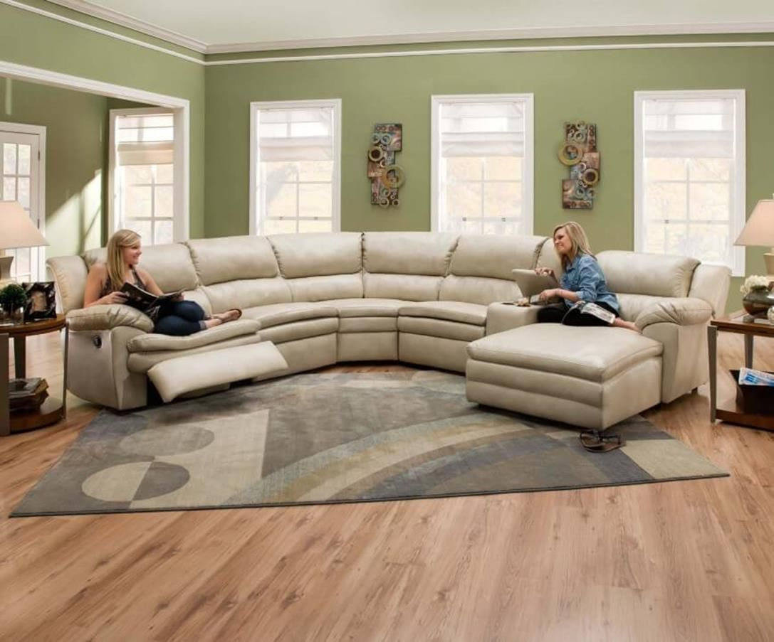 42 cozy lovely curved living room couches design ideas