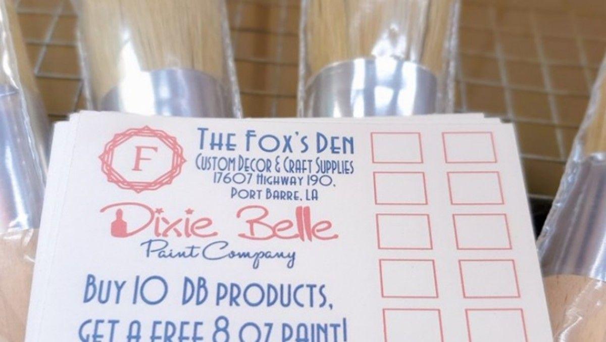DB Reward Cards Dixie belle paint, Cricut, Cricut design