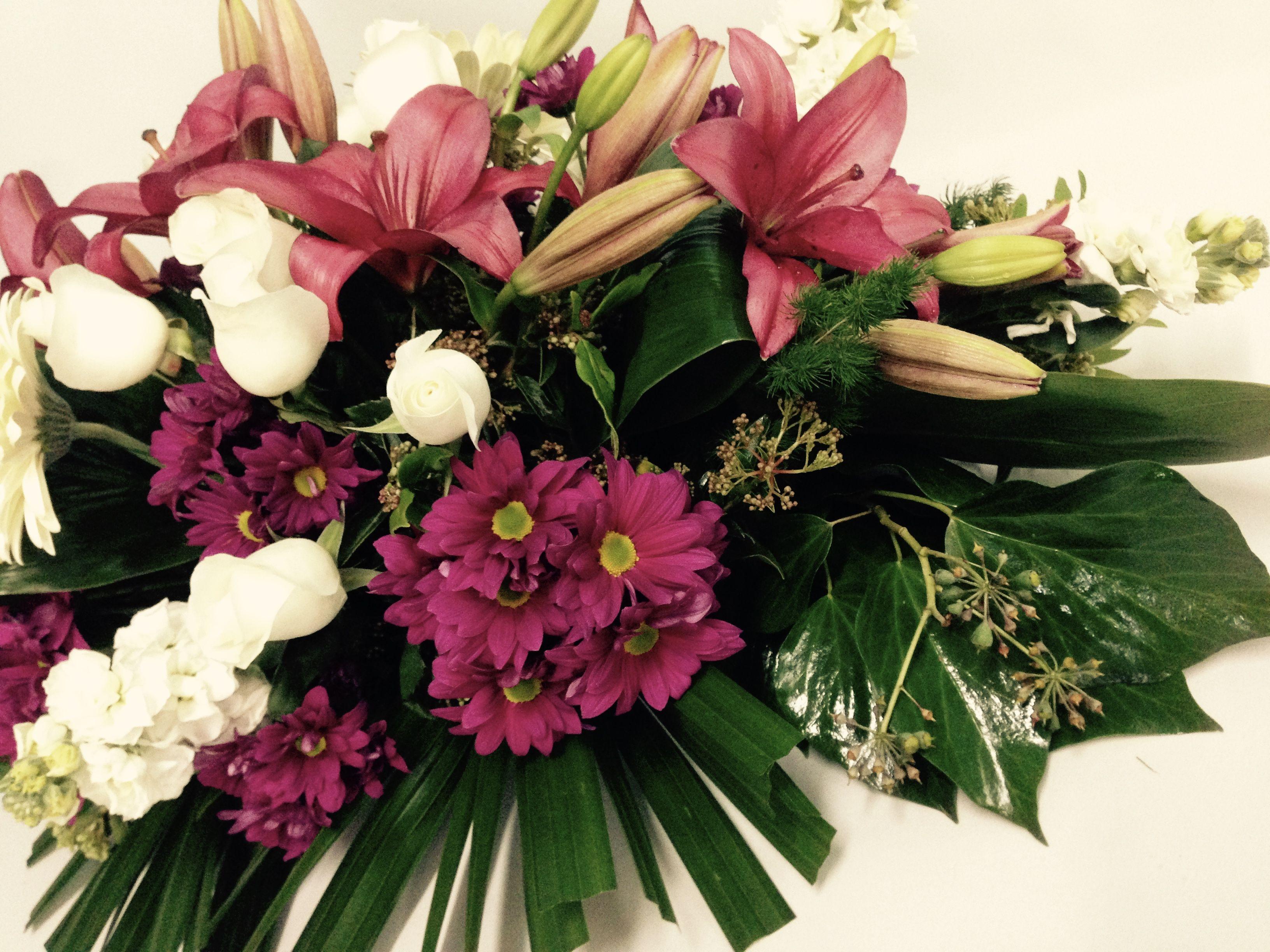 Funeral Sheaf Perth Florist Scents Of Style Florist Glen Forrest