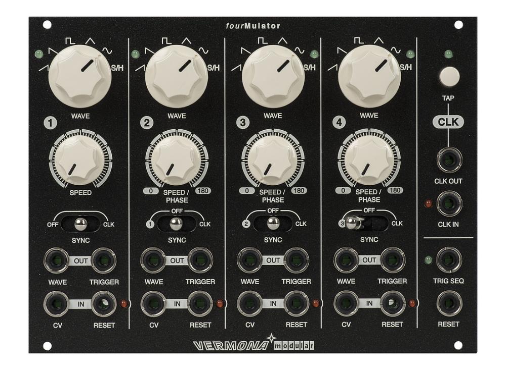 Vermona Fourmulator Eurorack Music Machine Synthesizer