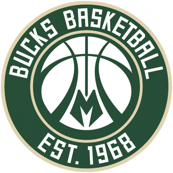 Milwaukee Bucks New Alternate Logo 2015 16