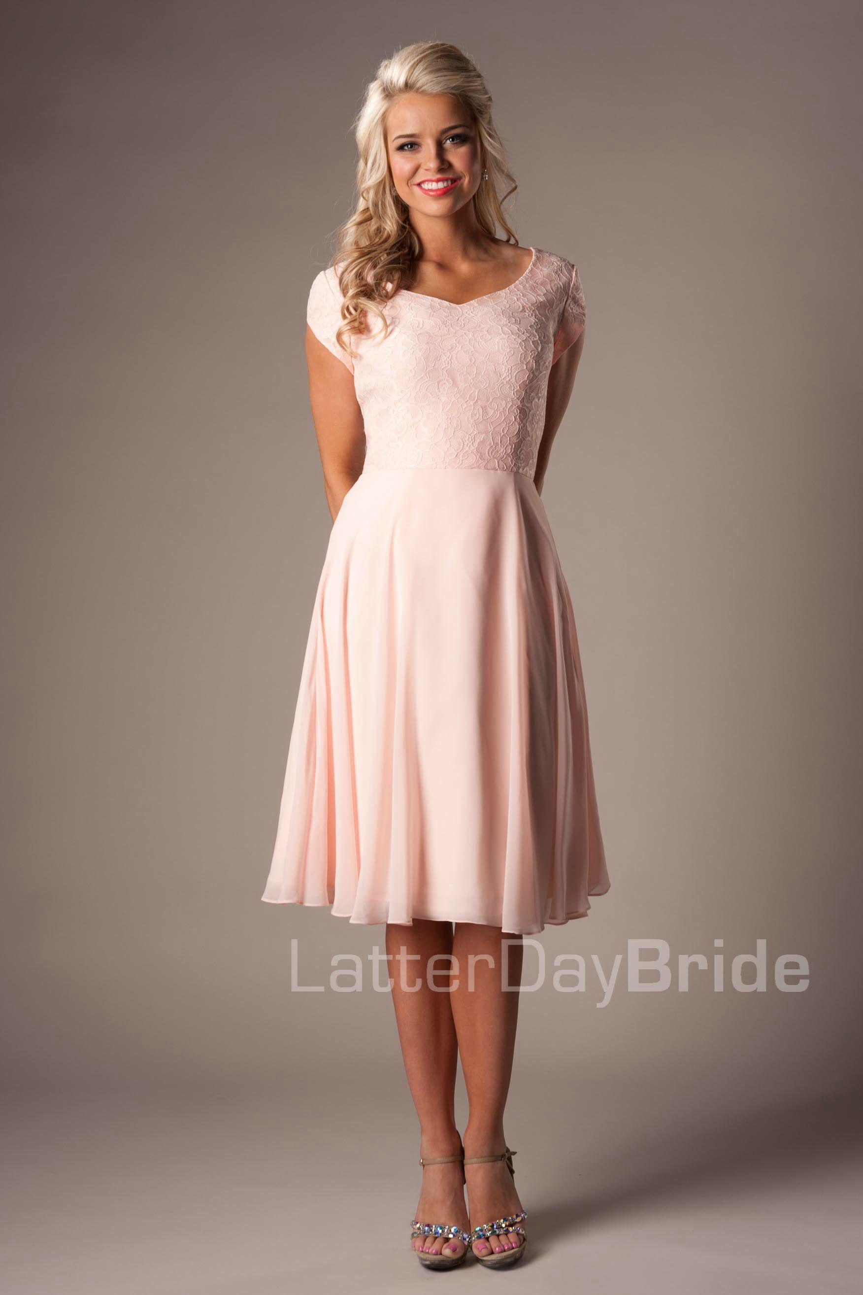 7043f0c00400 Simple Blush Bridesmaid Dresses Short, Blush Pink Dresses, Blush Pink  Bridesmaids, Short Blush
