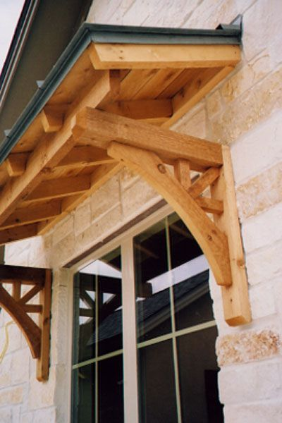 Rustic Accents of Texas - by Brian Clark - Awnings | House ...