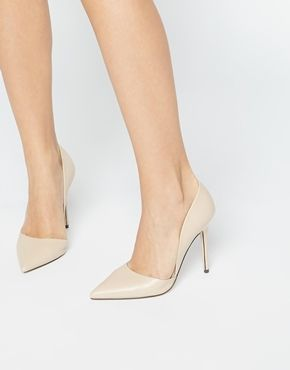 Buy Women Shoes / Lost Ink Nude Two Part Court Shoes